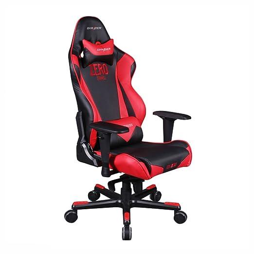 DX Racer RJ0/NR/ZERO Racing Bucket Seat Office Chair Gaming Chair PVC Ergonomic Computer Chair eSports Desk Chair Executive Chair