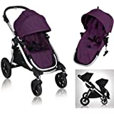 Baby Jogger City Select 2013 Stroller w/2nd Seat, Amethyst