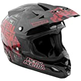 MSR Youth Assault Metal Mulisha Broadcast Helmet 2013