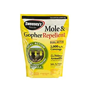 Sweeney's 4 Pound Mole and Gopher Repellent Granules S7001   (not avalibale in NM) (Discontinued by Manufacturer)
