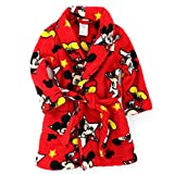 Mickey Mouse Toddler Red Fleece Robe