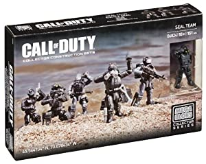 Mega Bloks Call of Duty Seal Team Collector Construction Set