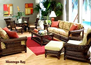 Montego 326 Wicker Living Room Furniture By Capris Living Room