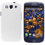 mumbi Schutzh�lle Samsung Galaxy S3 i9300 H�lle (harte R�ckseite) matt wei�
