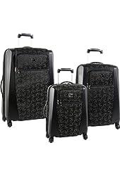 Diane Von Furstenberg Luggage Signature Hybrid 3 Piece Set