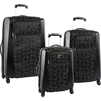 3 Piece Diane Von Furstenberg Luggage Signature Hybrid $130 at Amazon