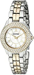 Armitron Women's 75/5332MPTT Swarovski Crystal-Accented Two-Tone Bracelet Watch