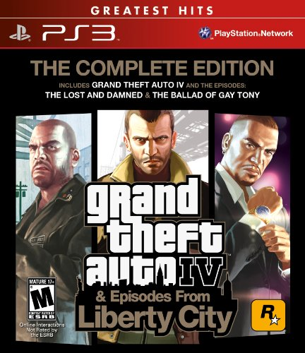 Grand Theft Auto Iv & Episodes From Liberty City: The Complete Edition front-756852