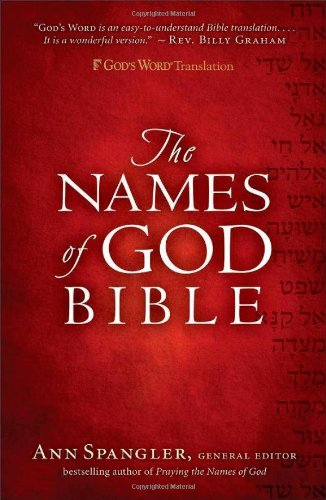 GW Names of God Bible Hardcover
