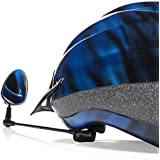Bike Mirror by Geared2U - Flat Bicycle Helmet Mirror Provides Crystal Clear Undistorted View - Extremely Lightweight