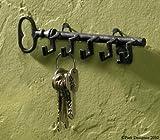 Key Shaped Key Holder Metal Hook