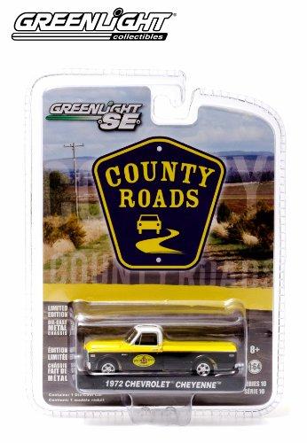 1972 Chevrolet Cheyenne (Pennzoil) * County Roads Series 10 * 2014 Greenlight 1:64 Scale Limited Edition Die-Cast Vehicle