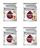 Tassimo 4 Packet Costa Coffee Mix Flavour T-Discs (16...