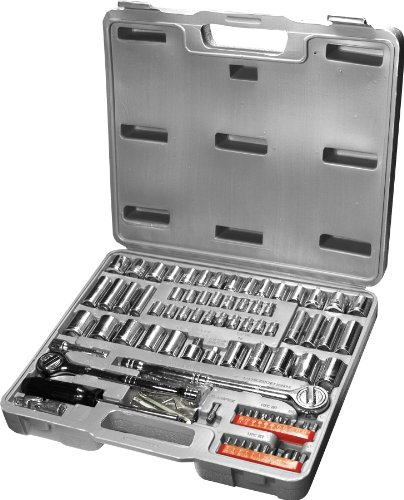 Mechanics Products (W1198) 100-Piece Socket and Bit Set (Auto Repair Tool Kit compare prices)
