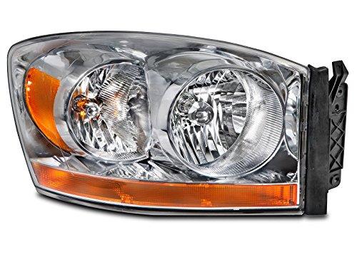 Dodge Ram 1500 2500 3500 Pickup Headlight Headlamp Passenger Side New (2006 Dodge 2500 Headlight Cover compare prices)