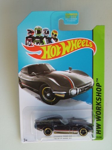 Toyota 2000 GT (Black) Diecast Car (Hot Wheels)(2013)