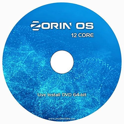 Zorin OS 12 CORE - NEW Release - Linux 64-bit on DVD
