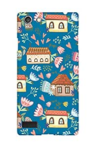 ZAPCASE PRINTED BACK COVER FOR OPPO NEO 7 Multicolor