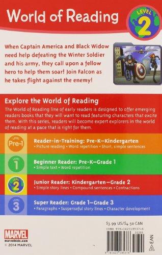 Falcon Takes Flight (World of Reading)