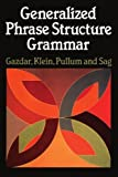 img - for Generalized Phrase Structure Grammar by Gerald Gazdar (1985-01-01) book / textbook / text book
