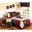 Wild West Cowboy Western Childrens Bedding 4pc Twin Set By Sweet Jojo Designs