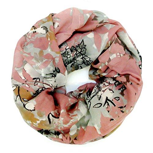 accessu-Echarpe-Foulard-pour-Femme-lovely-Floral-Rose-Print-rosegrey
