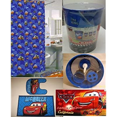 20 pc disney cars lightning mcqueen bathroom