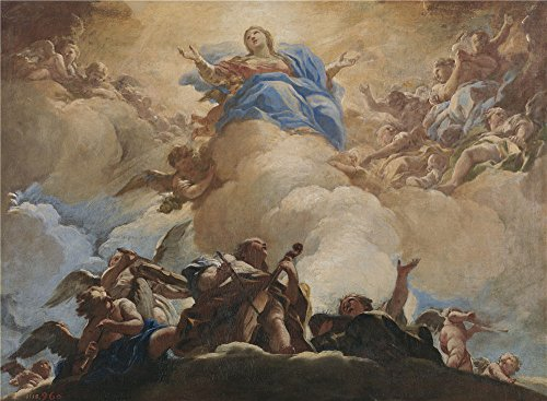 oil-painting-giordano-luca-la-asuncion-de-la-virgen-ca-1700-printing-on-polyster-canvas-20-x-27-inch