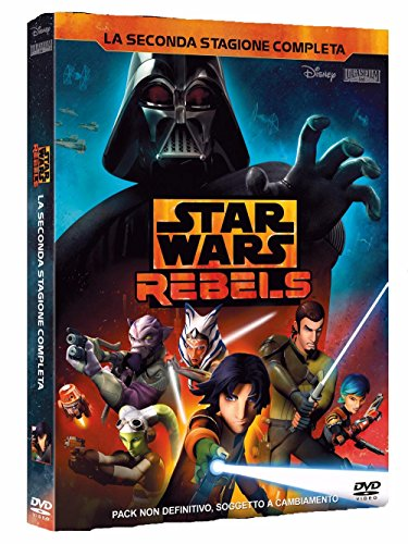star wars rebels 2 stagione (3 dvd) box set