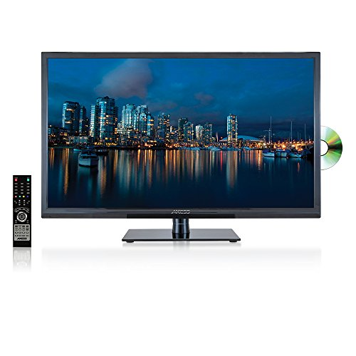 Axess 32-Inch Digital LED Full HDTV, Includes AC TV, DVD Player, HDMI/SD/USB Inputs, TVD1801-32