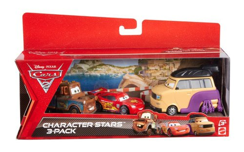 mattel-disney-cars-2-juego-de-3-coches-en-miniatura-luchador-de-sumo-mate-y-rayo-mcqueen