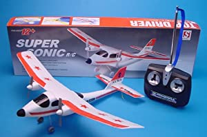 Radio Controlled Rc Plane Aircraft Radio Remote Sonic Plane Control Aeroplane from WILLIAMS RC