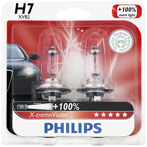 Philips H7 X-tremeVision Upgrade Headlight Bulb, 2 Pack (Toyota Celica 2000 Headlight compare prices)