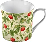 Creative Tops Strawberries Fine Bone China Shabby Chic Palace Mug, Multi-Colour