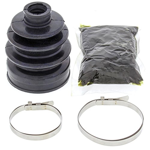 All Balls 19-5001 Black 17mm x 59mm x 86mm Long CV Boot Kit (Cv Boot Repair Kit For Suzuki 450 compare prices)