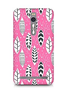 Amez designer printed 3d premium high quality back case cover for Asus Zenfone 2 (Flowers Pattern)