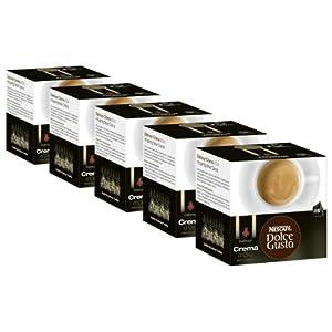Nescafé Dolce Gusto Dallmayr Crema d´Oro, Pack of 5, 5 x 16 Capsules