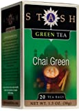 Stash Premium Green Chai Tea, Tea Bags, 20-Count Boxes (Pack of 6)