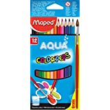 Maped Aqua Color Peps Set Of 12 With Paintbrish