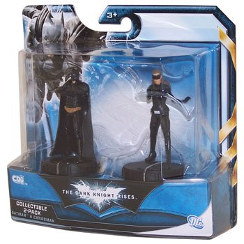 Batman Dark Knight Rises Mini Collectible 2Pack Batman Catwoman