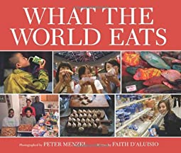 "Cover of ""What the World Eats"""