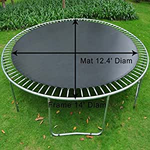 Amazon Com Mat Replacement For 14 Round Trampoline W