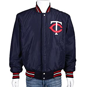 Minnesota Twins Reversible Wool Nylon Coat by MLB