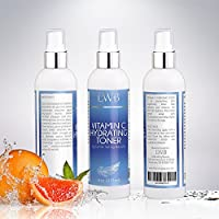 Alcohol Free Skin Toner-With Topical Vitamin C to Lighten Skin - GREAT Value 8oz !