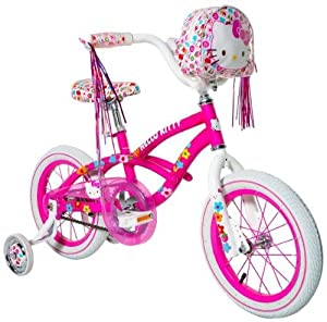 Hello Kitty Girl's Bike, Pink, 14-Inch
