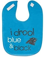 NFL Football Full Color Mesh Baby Bibs (I drool Carolina Panthers)