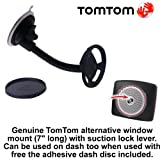 Genuine Long TomTom Easyport Window Mount for TomTom ONE V4/V5/XL/XXL/XL2 including IQ Routes
