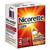 Nicorette Nicotine Gum, 4 mg, Cinnamon Surge 160 ea