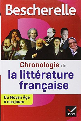 Chronologie de la littérature française : du Moyen Age à nos jours