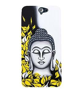 Prasanna Buddha Cute Fashion 3D Hard Polycarbonate Designer Back Case Cover for HTC One A9
